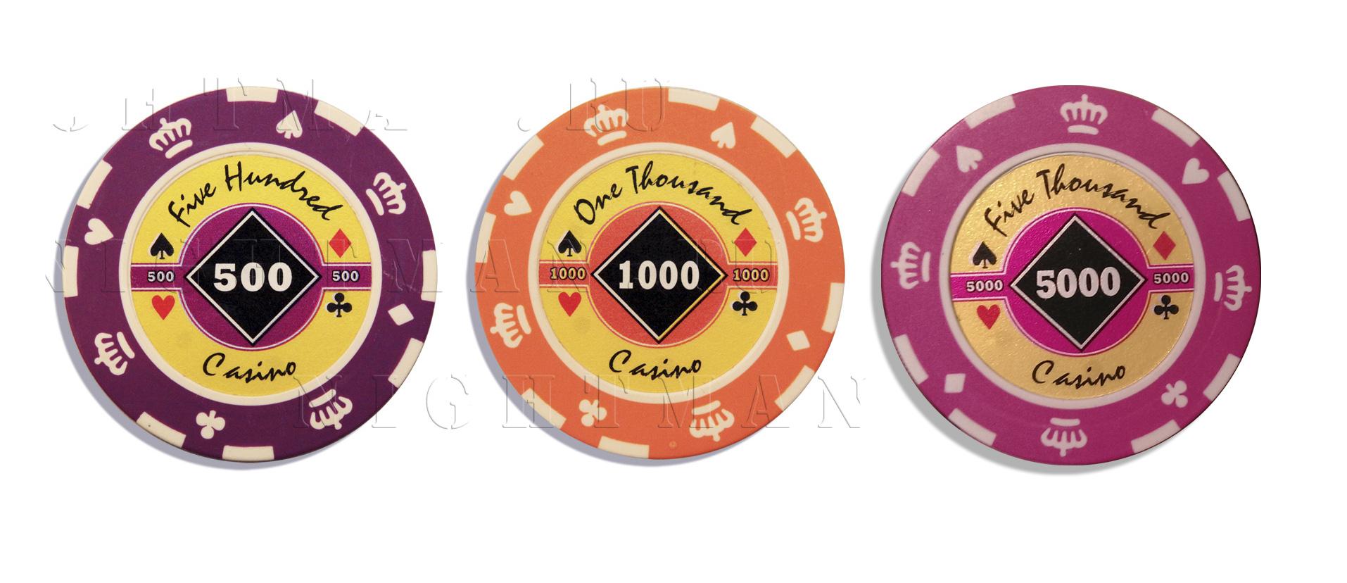 Покерные фишки CROWN 15,5гр