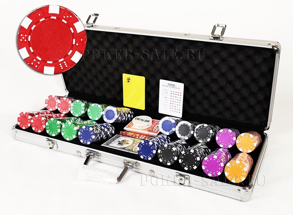 DICE 500 - покерный набор