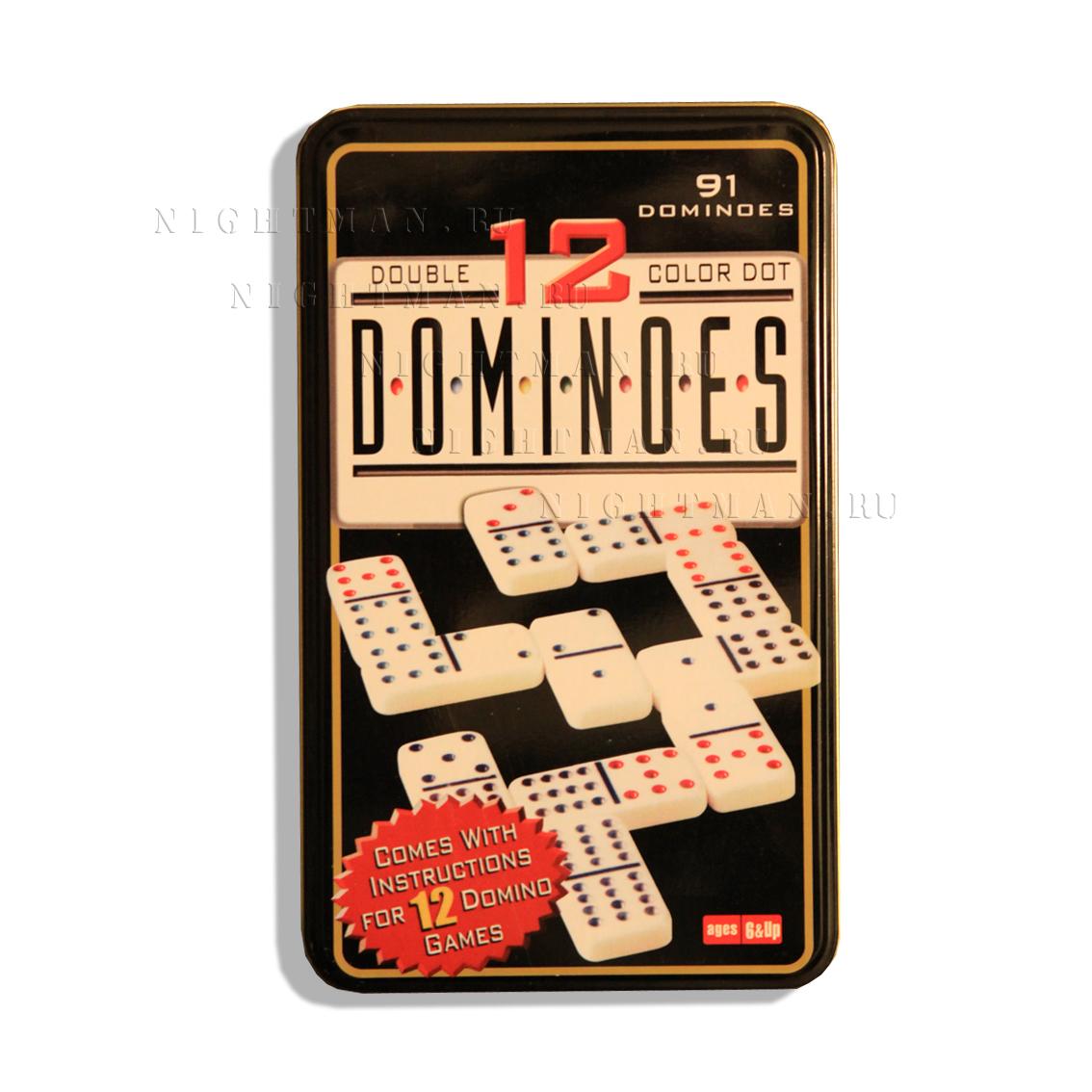 Набор Домино на 12 человек