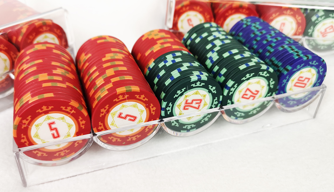 Casino Royale Full Tray - Покерный набор