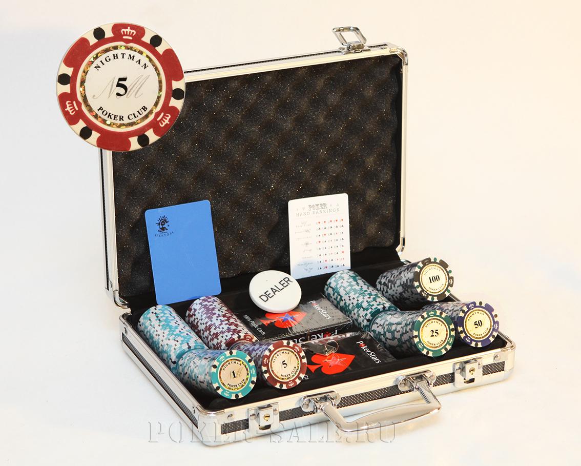 NIGHTMAN 200 - покерный набор