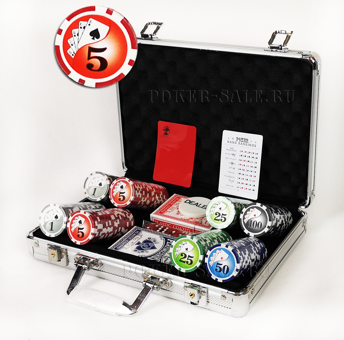 Royal Flash 200 - покерный набор