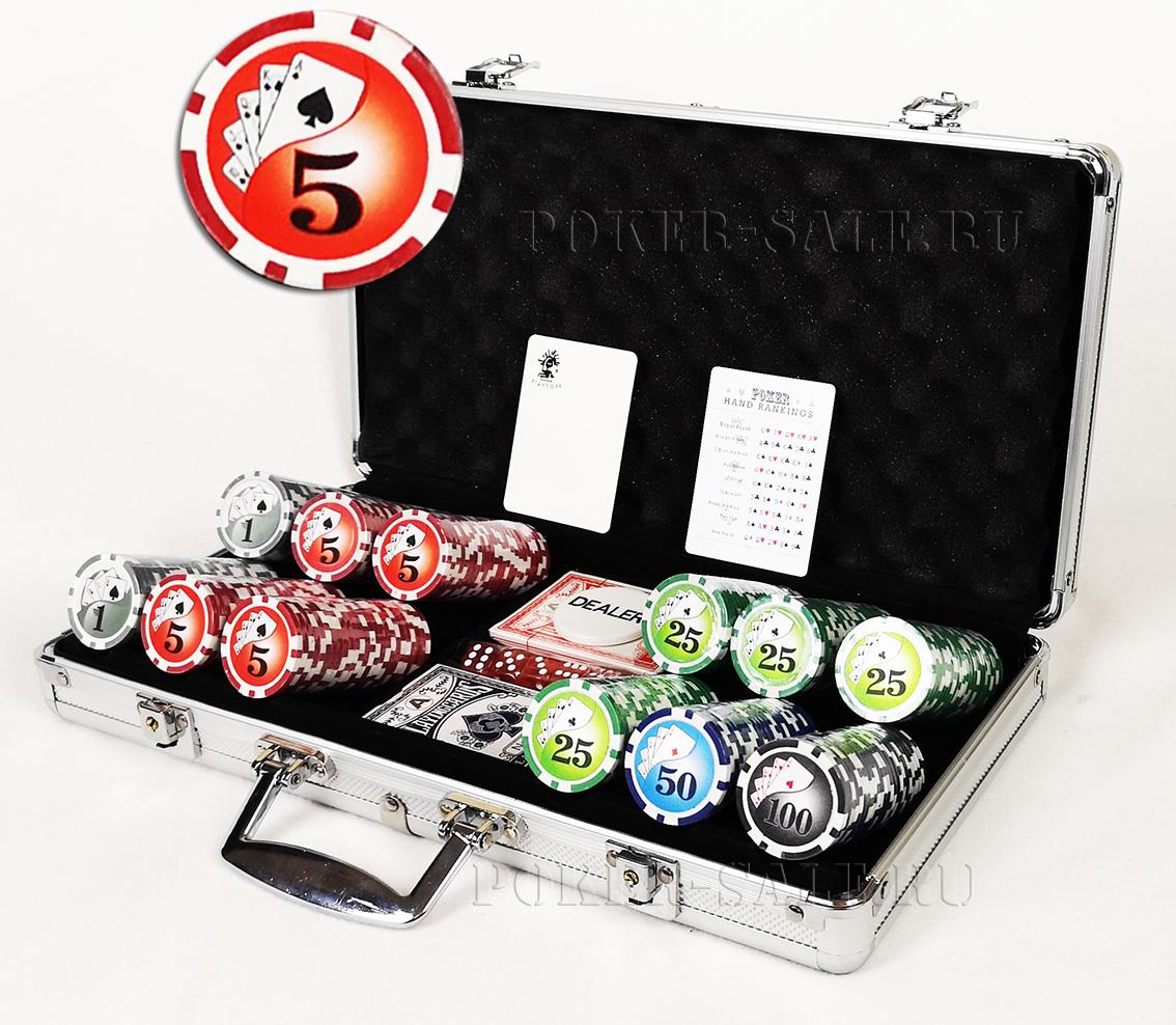Royal Flash 300 - покерный набор
