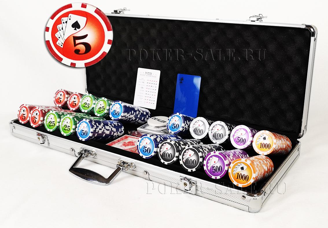 Royal Flash 500 - покерный набор
