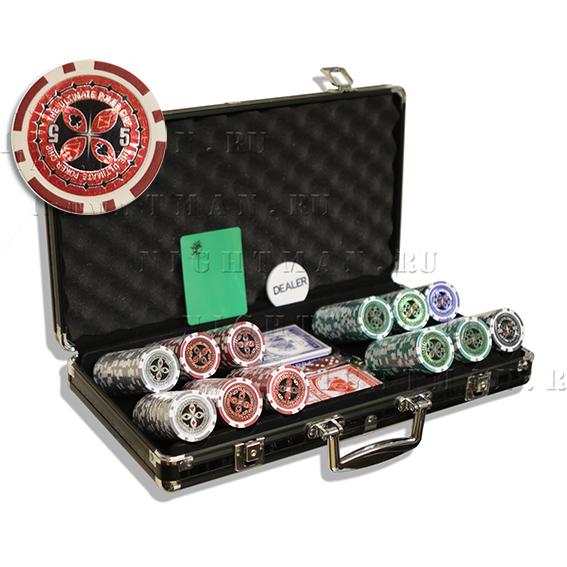 Ultimate 300 - покерный набор