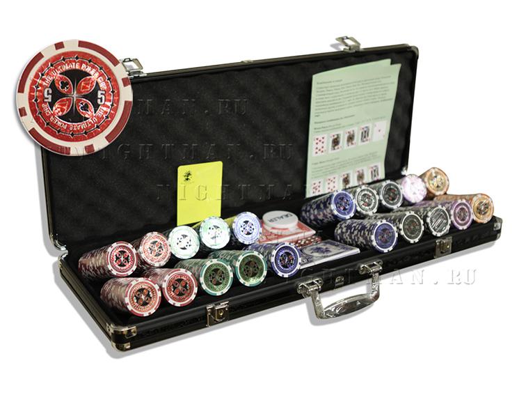 Ultimate 500 - покерный набор