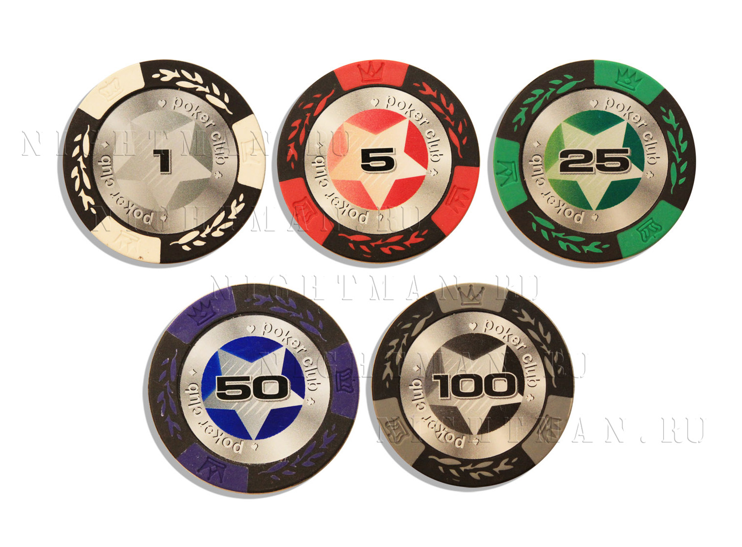Покерные фишки STARS 14гр