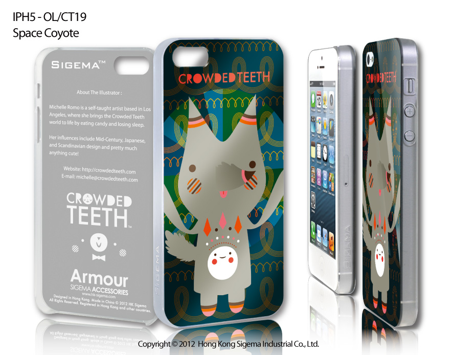 "Чехол для iPhone 5 ""Space Coyote"""
