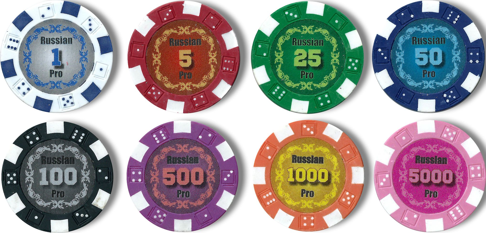 Покерные фишки Russian Pro 11.5 гр